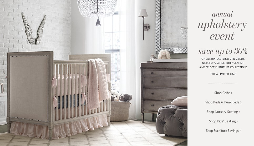 Restoration Hardware Baby & Child Homepage - Baby Furniture, Luxury ...