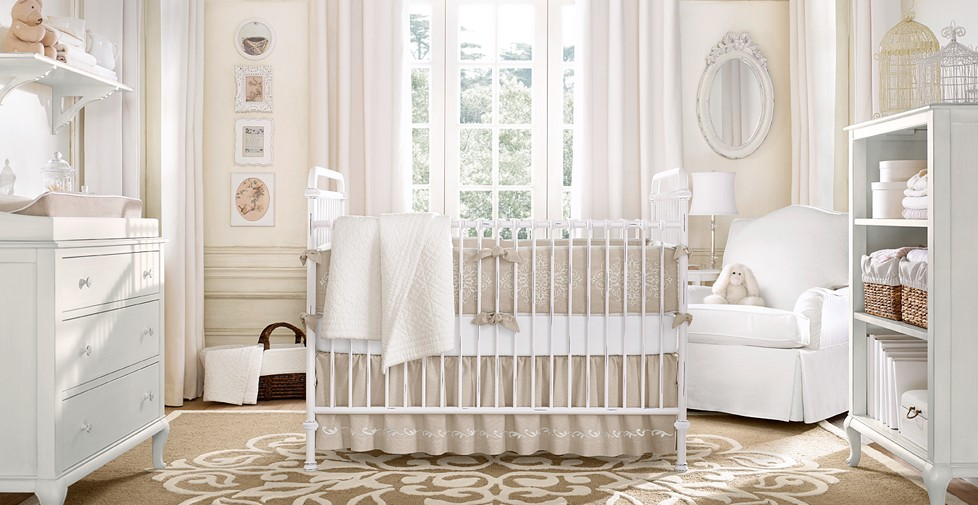 2 Beautiful Baby Nursery Nurseries Pinterest