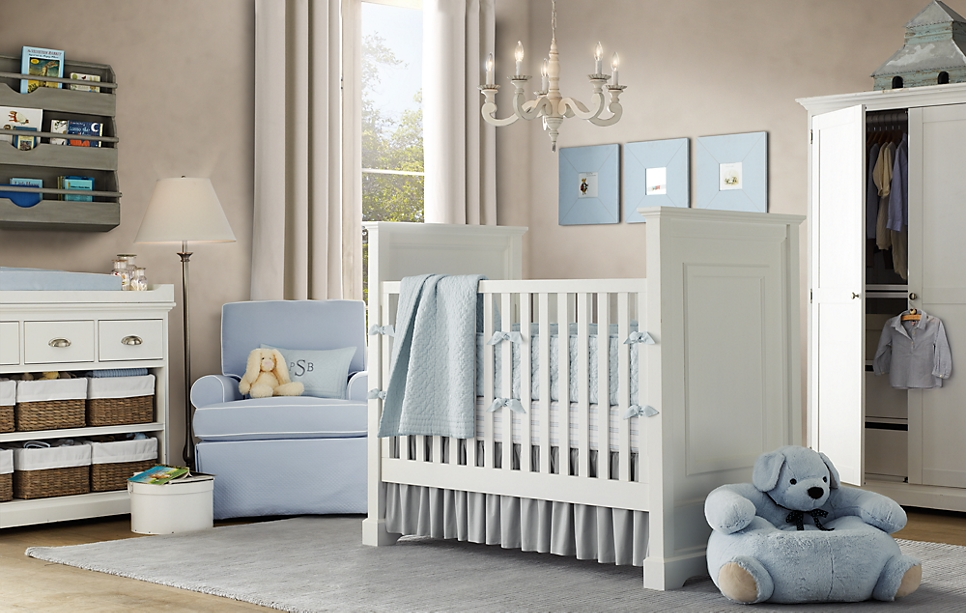 Babyzimmer Blau Beige : Xp this may be our elegant grey blue boy nursery theme