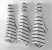 Contrast Stripe Hooded Towels - Baby