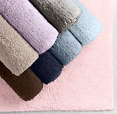 Plush Bath Rugs