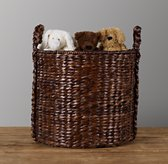 Seagrass Oversized Toy Basket - Espresso