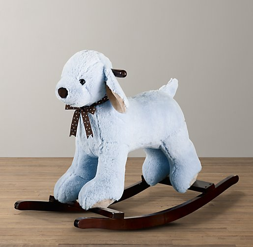 Cuddle Plush Dog Rocker
