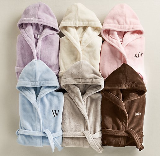 Cuddle Plush Bath Wraps