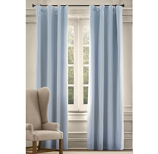 Oxford Stripe Drapery Panel