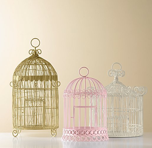 large white birdcage