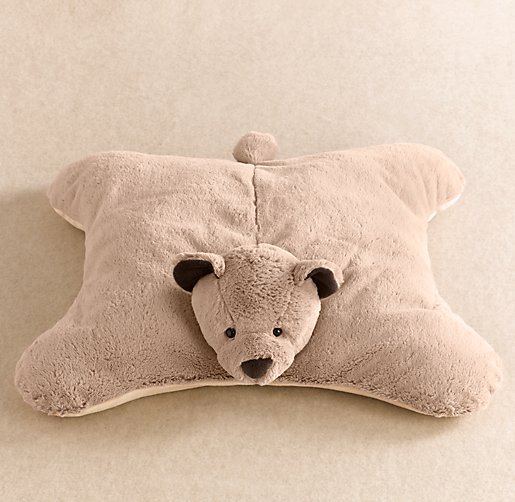 Cuddle Plush Bear Floor Pillow