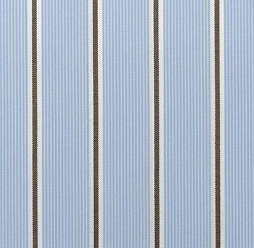 oxford stripe drapery swatch
