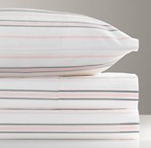 European Heirloom Stripe Sheet Set