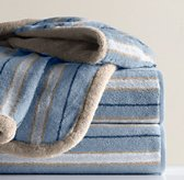 Tailored Stripe Bath Towels
