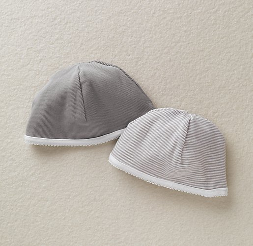 Stripe Hats Set of 2