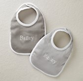 Stripe Bibs Set of 2