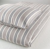 Vintage Ticking Stripe Duvet Cover