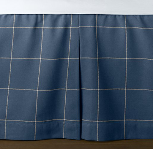 European Open Plaid Skirt