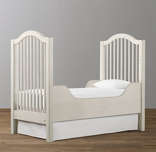Antique Spindle Toddler Bed Conversion Kit