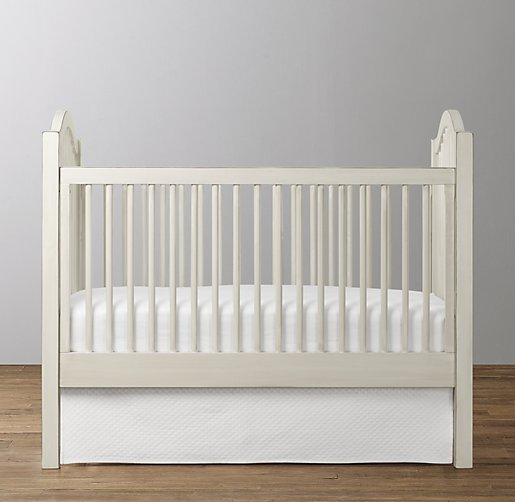 Antique Spindle Toddler Bed Conversion Kit
