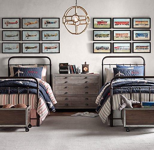 Millbrook Iron Bed