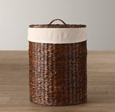 Textured Cotton Seagrass Hamper Liner