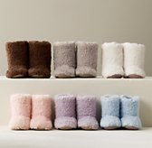 Shaggy Plush Booties