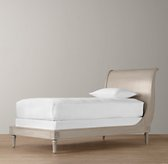 Emelia Sleigh Bed Without Footboard