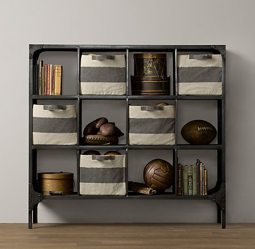 Foundry Metal Cubby System - Wide