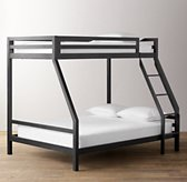 Industrial Loft Twin-Over-Full Bunk Bed