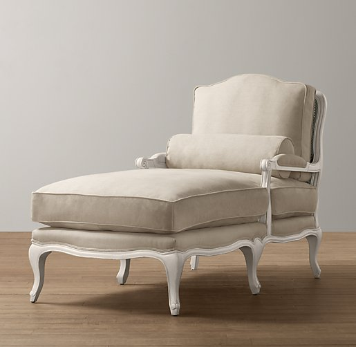 French Vintage Chaise