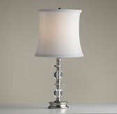 Noelle Table Lamp Antique Pewter