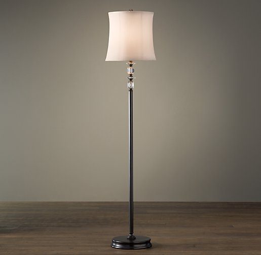 Noelle Floor Lamp Chestnut