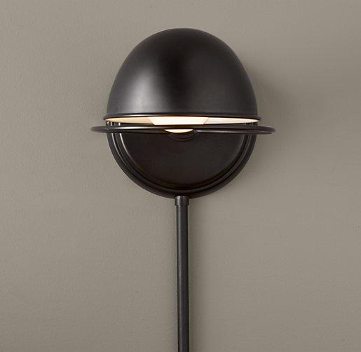 academy task sconce oil rubbed bronze. Black Bedroom Furniture Sets. Home Design Ideas
