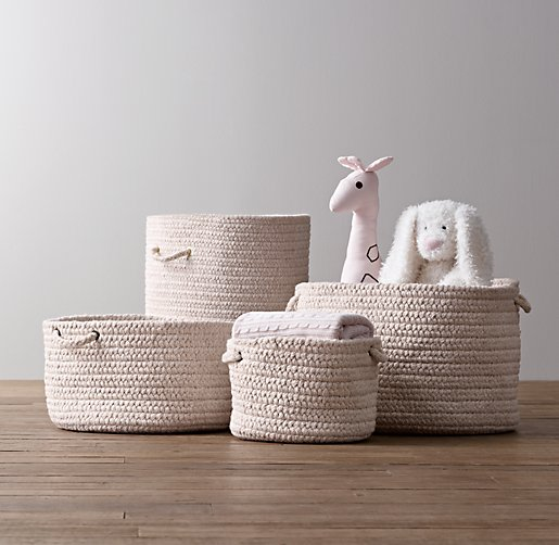 Braided Wool Baskets