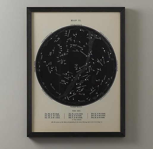 Night Sky Map
