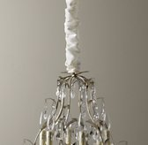 Silk Chandelier Cord Cover