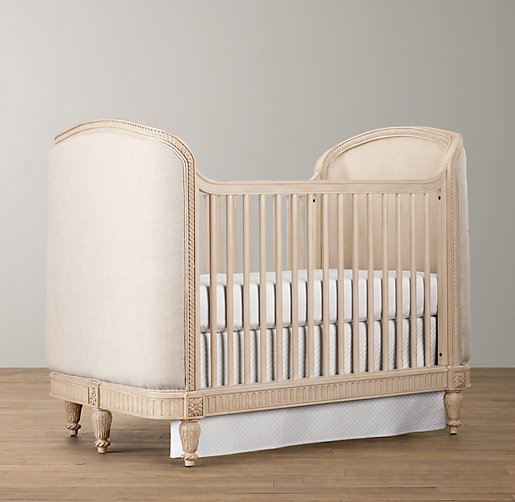 Belle Upholstered Crib