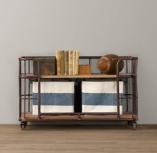 Industrial Baker's Storage Rack - Low