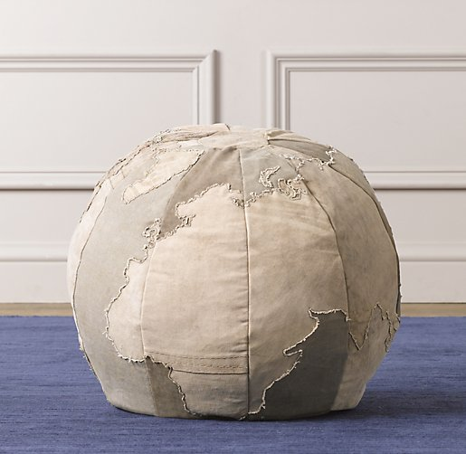 Small World Ottoman