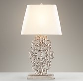 Scrollwork Table Lamp