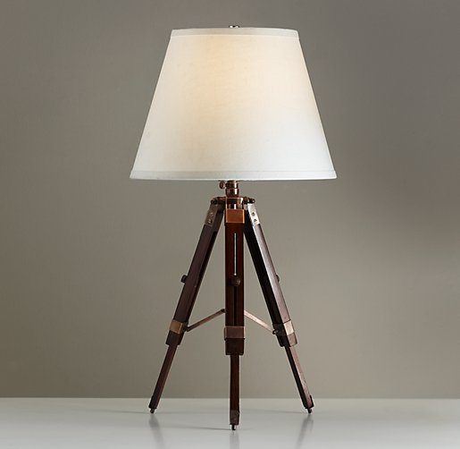 Surveyor's Table Lamp Coffee