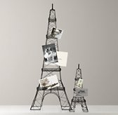 Wire Eiffel Tower Card Holder