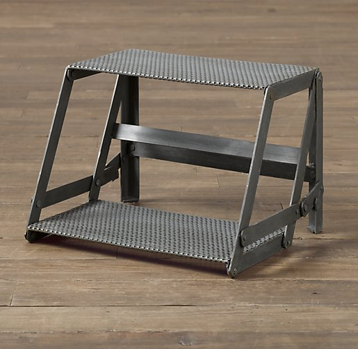 Industrial Mesh Step Stool
