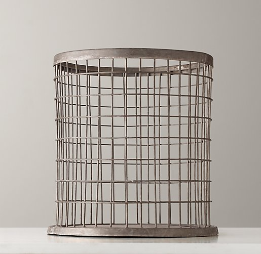 Industrial Desk Accessories - Trash Can