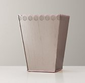 Scalloped-Edge Desk Accessories - Trash Can