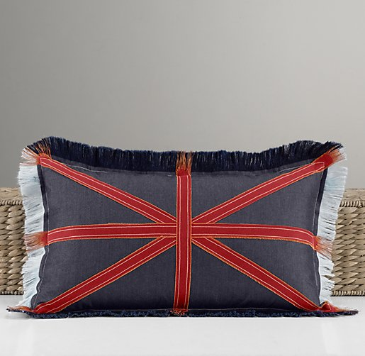 Union Jack Decorative Pillow Cover & Insert