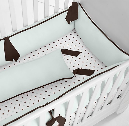 Cuddle Plush Crib Bumper