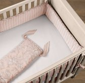 Antique Floral Crib Bumper