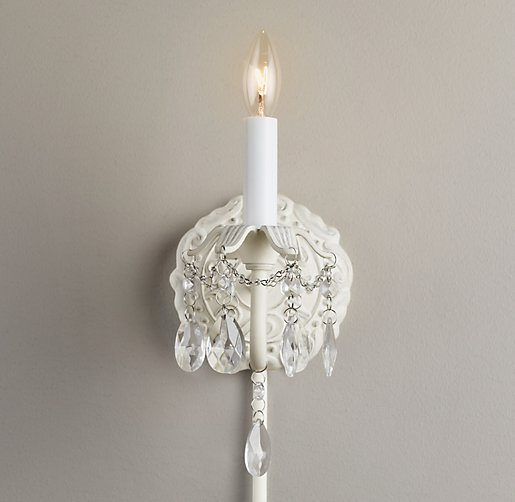 Brocade Single Sconce