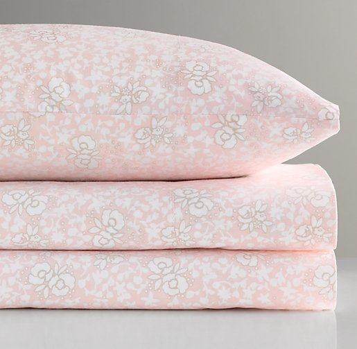 European Fleur Toddler Pillowcase