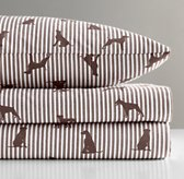 European Dog Silhouette Sheet Set