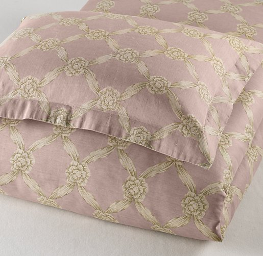 European Rosette Lattice Duvet Cover
