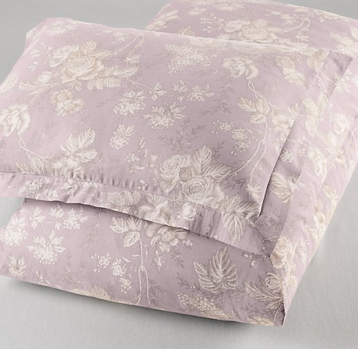 Antique Floral Sham